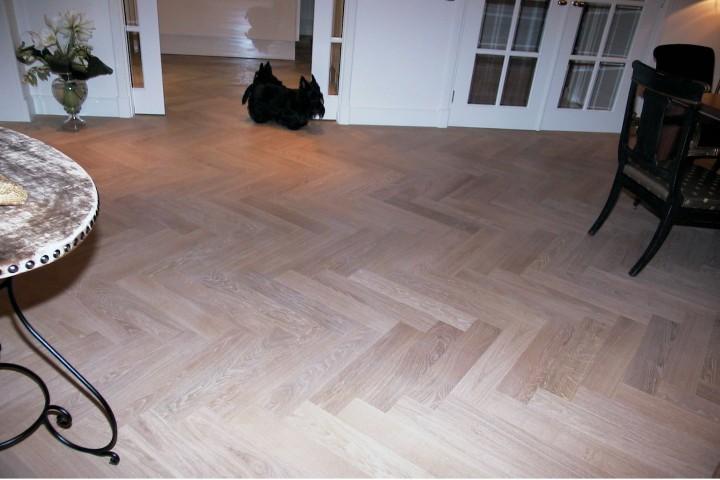 tapis vloeren visgraat
